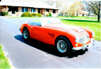 1962 Austin Healey BT7 Tri Carb