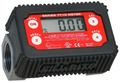New Fill-rite Tt10an 2-35 Gpm Inline Digital Turbine Fuel Meter 8625519