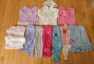 Lot of girl clothing 18-24m