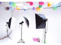 Photography Studio Open for hire or bookings!