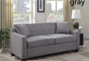 Uptown Sofa With Pullout Bed ( 2 colors available )