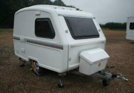 Freedom Microlite Bijoux 2014 3 Berth Caravan + Light Towing Weight