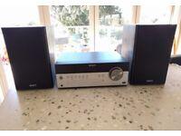 Sony CMT SBT100B 50w Compact Hi-Fi System with BLUETOOTH, DAB FM/AM Radio, CD, USB, Remote Control