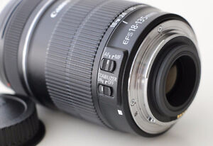 Canon EF-S 18-135mm f/3.5-5.6 IS Lens.