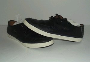 Navy Blue Lacoste Mens Shoes - Size 9