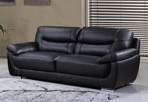BRYCE GENUINE LEATHER SOFA ONLY $1199 TAX IN & FREE LOCAL DEL
