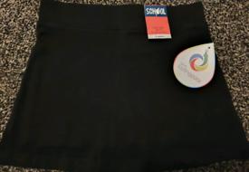 Hidden shorts skirt