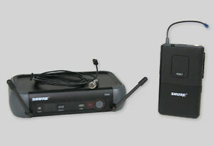 Various Cordless Microphone Systems