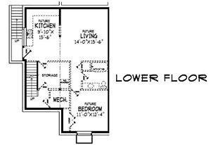 1 bedroom suite with laundry room