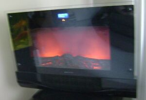 Bonaire Fireplace with Remote
