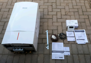 Gas-fired Wall Mounted Combi Condensing Boiler (Bosche Model ZWB