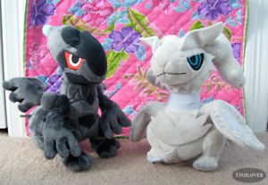 Pokemon Zekrom and Reshiram Pokedoll Plush/Stuffies - 20$ each