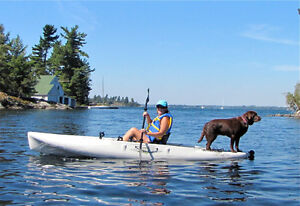 2 Hobie Outback Kayaks with Mirage Drives