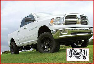 Zone Offroad - Suspension 6'' IFS Système Ram 1500 2012 4WD