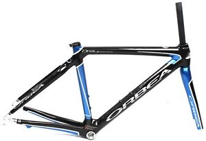 ORBEA-46cm-OPAL-DAMA-2010-Women-Blue-Rd-Tri-650c-Bike-Frame-W-Fork-Carbon-NEW