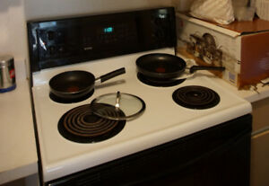 Stove-range by Sears