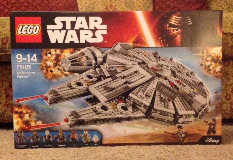 Lego Star Wars Millenium Falcon New
