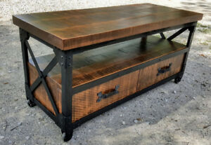 New Iron Works HDTV Stand for sale