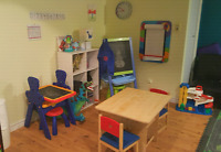 East End Belleville Daycare  2 yrs + spots.