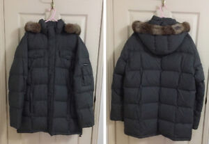 Long Jacket - Duck Feather Down, XL size