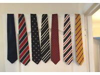 Charles Tyrwhit 100% silk ties