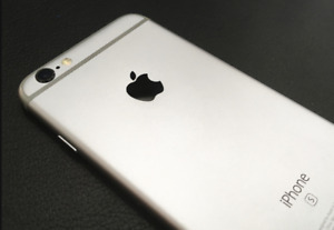 128GB iPhone 6s + 4 cases TELUS/KOODO