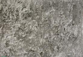 New Julien McDonald Silver Plush Sparkle Rug 160 x 230
