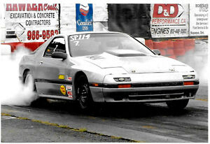 DRAG CAR  V8  QUICK 86 mazda  RX-7