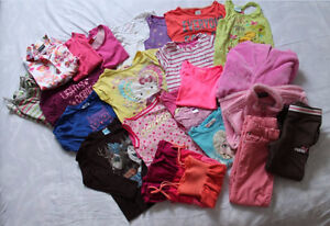 Assortment Variety of Girls clothes for ages 5-6-7