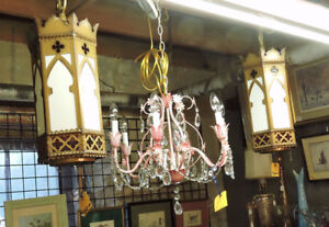 Chandeliers and Vintage Lighting