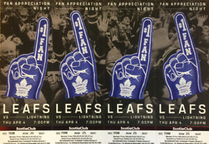 Leafs vs. Lightning: Centre Ice Club Reds 4-Pack