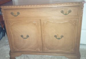 Antique cabinet sideboard