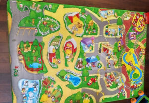 Little People Fisher-price Large Foam Play Rug Floor Mat 4x6 ft