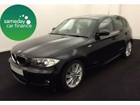 £148.83 PER MONTH 2009 BMW 118 2.0 M SPORT HATCHBACK 5 DOOR PETROL MANUAL