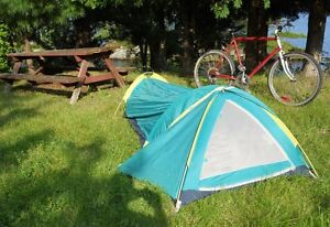 Tent - Compact One Person Biking Tent