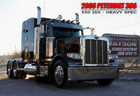 2008 PETERBILT 388 **BLACK BEAUTY**