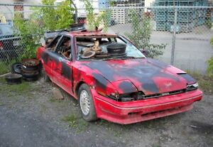 Buying and hauling scrap cars!!!