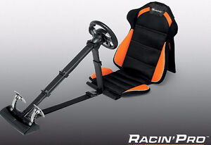 Subsonic Racing Pro Seat and Wheel - PS3 et PC