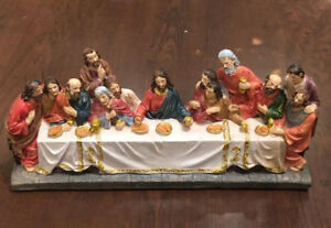 Brand new Angel ornaments Last Supper figurines on sale