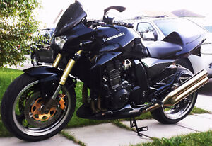 2004 Kawasaki Z1000 with a ton of extras for sale