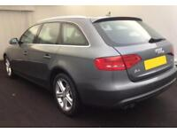 2012 GREY AUDI A4 AVANT 2.0 TDI 143 SE DIESEL AUTO CAR FINANCE FROM £37 PW