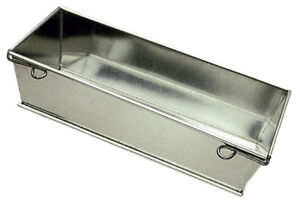 Gobel tinned steel collapsible hinged loaf pan-New