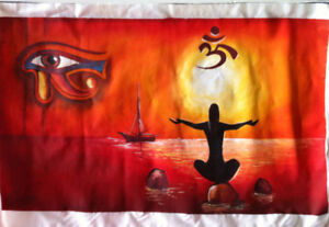 Serenity in the Red Sea Painting