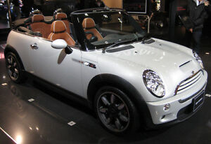 Mini Cooper S  Convertible 4 seats