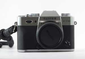 Fujifilm X-T10 mirrorless DSLR Graphite Silver Fuji camera