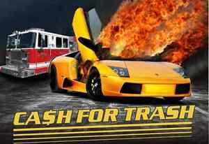 WE PAY CASH FOR SCRAP CARS!! CALL 613-831-2900 $$$