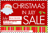 Christmas In July Sale - 20 to 40% -In Stock Items