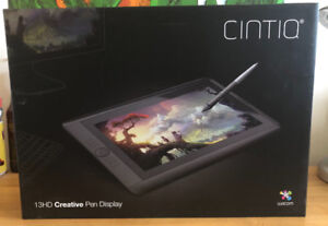 BRAND NEW Wacom Cintiq 13 HD Creative Pen Display art