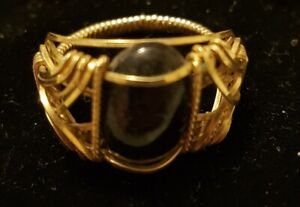 NEW Gold String Ring  for sale
