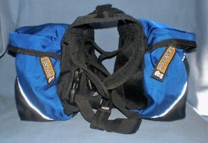 """RUFFWEAR APPROACH BACK PACK FOR DOGS SIZE SMALL 22""""/27"""" chest"""